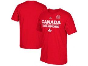 Tričko Team Canada 2016 World Cup of Hockey Champions Authentic