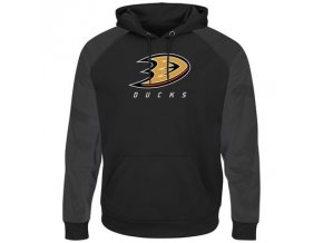 Mikina Anaheim Ducks Majestic Penalty Shot Therma Base Hoodie