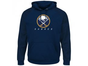 Mikina Buffalo Sabres Majestic Penalty Shot Therma Base Hoodie