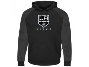 Mikina Los Angeles Kings Majestic Penalty Shot Therma Base Hoodie