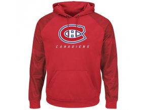 Mikina Montreal Canadiens Majestic Penalty Shot Therma Base Hoodie