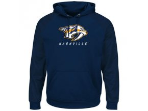 Mikina Nashville Predators Majestic Penalty Shot Therma Base Hoodie