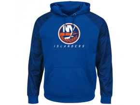 Mikina New York Islanders Majestic Penalty Shot Therma Base Hoodie