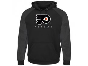 Mikina Philadelphia Flyers Majestic Penalty Shot Therma Base Hoodie