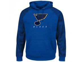 Mikina St. Louis Blues Majestic Penalty Shot Therma Base Hoodie