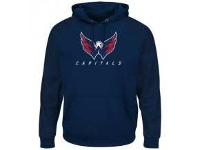 Mikina Washington Capitals Majestic Penalty Shot Therma Base Hoodie