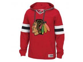 Mikina Chicago Blackhawks Speedwick Jersey Hoodie (Velikost S, Distribuce USA)