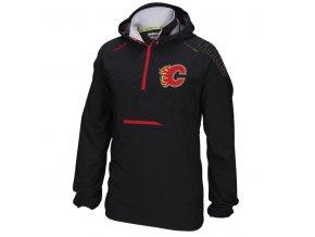 Bunda větrovka Calgary Flames CI Anorak Pullover Jacket
