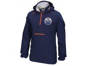 Bunda větrovka Edmonton Oilers CI Anorak Pullover Jacket