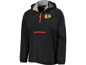 Bunda větrovka Chicago Blackhawks CI Anorak Pullover Jacket