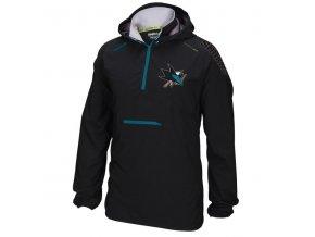 Bunda větrovka San Jose Sharks CI Anorak Pullover Jacket