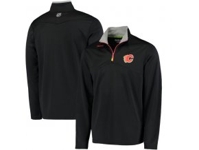 Mikina Calgary Flames Center Ice Quarter-Zip Baselayer