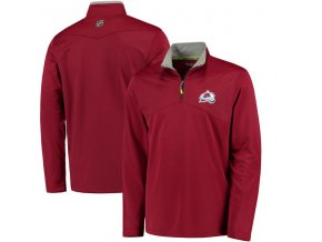 Mikina Colorado Avalanche Center Ice Quarter-Zip Baselayer