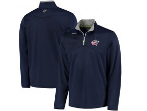 Mikina Columbus Blue Jackets Center Ice Quarter-Zip Baselayer