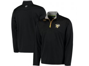 Mikina Pittsburgh Penguins Center Ice Quarter-Zip Baselayer