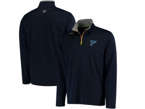 Mikina St. Louis Blues Center Ice Quarter-Zip Baselayer