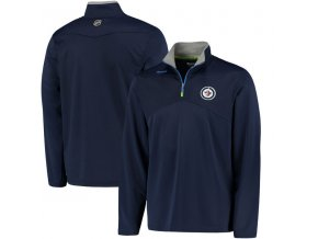 Mikina Winnipeg Jets Center Ice Quarter-Zip Baselayer