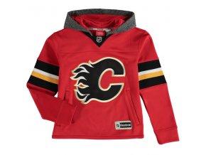 Dětská mikina Calgary Flames Faceoff Jersey Hoodie