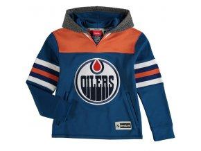 Dětská mikina Edmonton Oilers Faceoff Jersey Hoodie