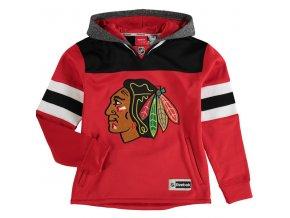 Dětská mikina Chicago Blackhawks Faceoff Jersey Hoodie