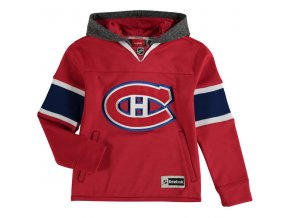 Dětská mikina Montreal Canadiens Faceoff Jersey Hoodie