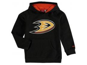 Dětská mikina Anaheim Ducks Prime Applique Pullover Hoodie