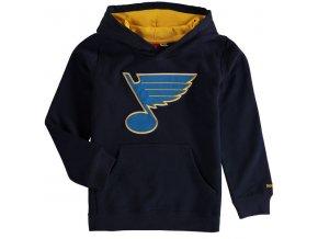 Dětská mikina St. Louis Blues Prime Applique Pullover Hoodie