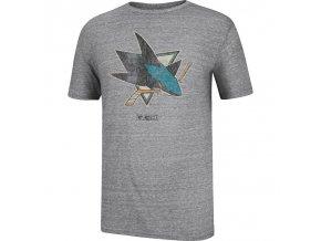 Tričko San Jose Sharks CCM Bigger Logo (Velikost XS, Distribuce EU)
