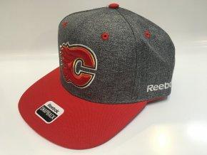 Kšiltovka Calgary Flames CCM Linen Snapback