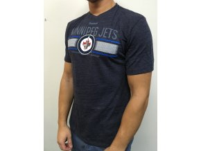Tričko Winnipeg Jets Team Stripe Overlay
