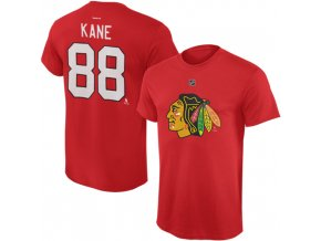 Dětské tričko Patrick Kane Chicago Blackhawks NHL Name & Number (Velikost Dětské L (11 - 12 let), Distribuce USA)