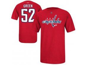Dětské tričko Mike Green Washington Capitals NHL Name & Number (Velikost Dětské L (11 - 12 let), Distribuce USA)