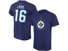 Dětské tričko Andrew Ladd Winnipeg Jets NHL Name & Number (Velikost Dětské L (11 - 12 let), Distribuce USA)