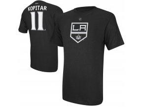 Dětské tričko Anze Kopitar Los Angeles Kings NHL Name & Number (Velikost Dětské L (11 - 12 let), Distribuce USA)