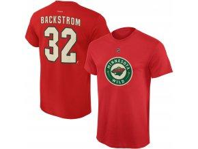 Dětské tričko Niklas Backstrom Minnesota Wild NHL Name & Number (Velikost Dětské L (11 - 12 let), Distribuce USA)