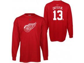 Dětské tričko Pavel Datsyuk Detroit Red Wings NHL Name & Number (Velikost Dětské L (11 - 12 let), Distribuce USA)