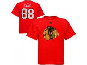 Dětské tričko Patrick Kane Chicago Blackhawks NHL Name & Number (Velikost 4 roky, Distribuce USA)