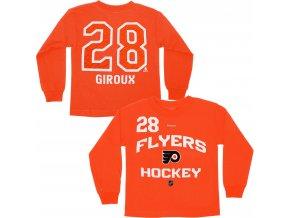 Dětské tričko Claude Giroux Philadelphia Flyers NHL Name & Number (Velikost 4 roky, Distribuce USA)