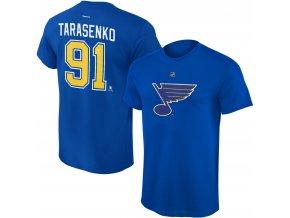 Dětské tričko Vladimir Tarasenko St. Louis Blues NHL Name & Number (Velikost Dětské L (11 - 12 let), Distribuce USA)