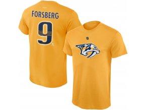 Dětské tričko Filip Forsberg Nashville Predators NHL Name & Number (Velikost Dětské L (11 - 12 let), Distribuce USA)