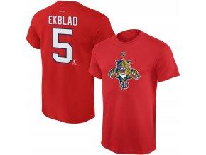 Dětské tričko Aaron Ekblad Florida Panthers NHL Name & Number (Velikost Dětské L (11 - 12 let), Distribuce USA)