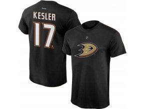 Dětské tričko Ryan Kesler Anaheim Ducks NHL Name & Number (Velikost Dětské L (11 - 12 let), Distribuce USA)