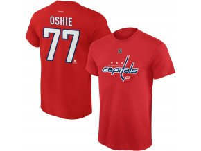Dětské tričko T.J. Oshie Washington Capitals NHL Name & Number (Velikost Dětské L (11 - 12 let), Distribuce USA)