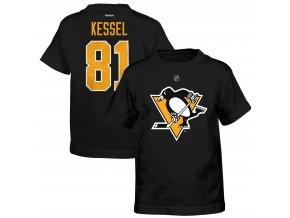 Dětské tričko Phil Kessel Pittsburgh Penguins NHL Name & Number (Velikost 4 roky, Distribuce USA)
