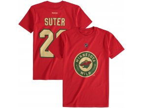 Dětské tričko Ryan Suter Minnesota Wild NHL Name & Number (Velikost Dětské L (11 - 12 let), Distribuce USA)