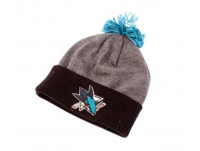 Kulich San Jose Sharks FaceOff Basic Cuffed Pom