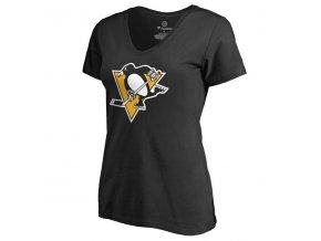 Dámské tričko Pittsburgh Penguins Black Alternate Logo