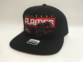 Kšiltovka Calgary Flames Cool N Dry Snapback