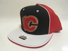 Kšiltovka Calgary Flames Pinwheel Snapback