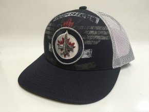 Kšiltovka Winnipeg Jets Print Structured Trucker